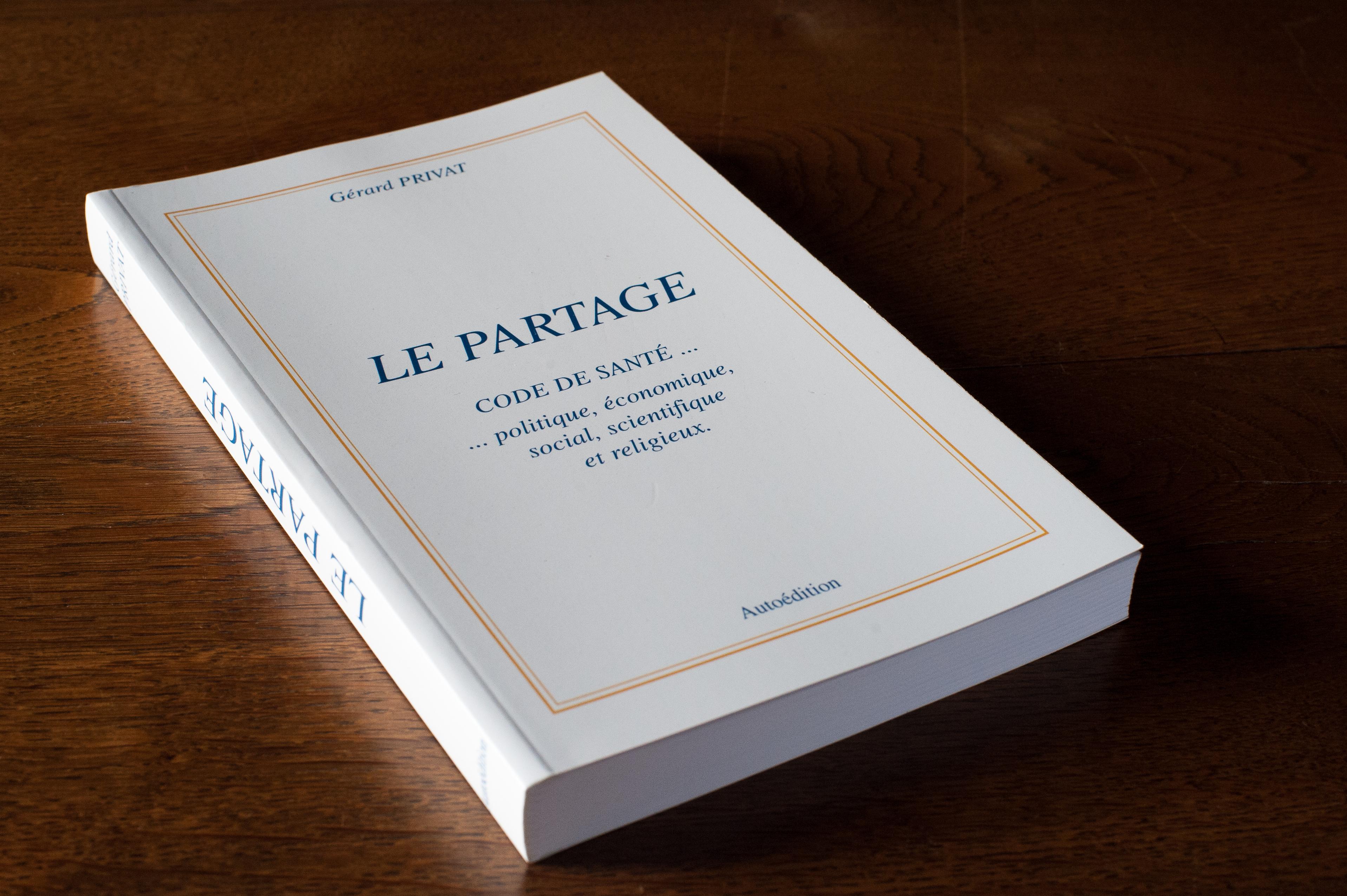 Livre Le partage - Code de santé... politique, économique, social, scientifique et religieux